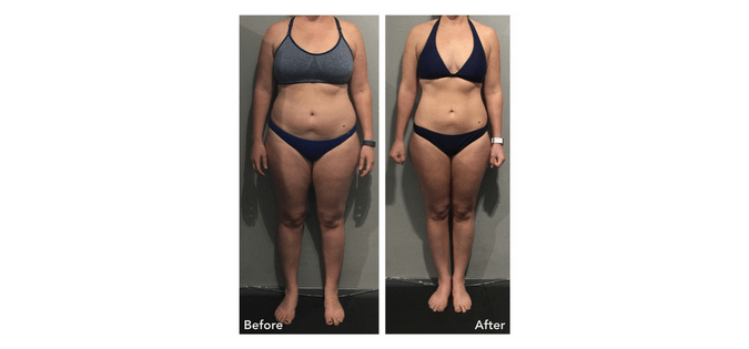 Jo's incredible results personal training in clapham